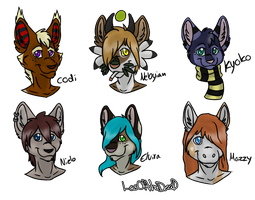 HeadShot .:Gift Art:. by LeoOfTheDeaD