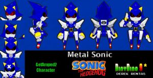 GA2 Metal Sonic Skin DOWNLOAD by DinyDino9