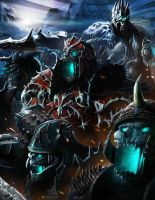 Wrath of the Lich King by orochi-spawn