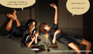 commission - Raito n snape BFF by Go-Devil-Dante