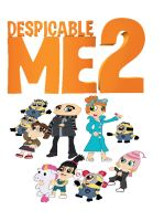Despicable Me 2 in 2D animated by DanielaEspinoza19