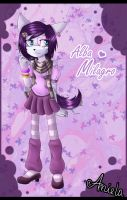 Alba Milagro the Wolf Husky by AngelSoleil21