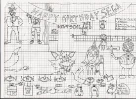 Another birthday with your Fans (Update) by AdmiralPieet