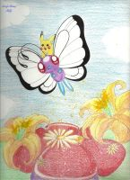 +Butterfree and Pikachu+ by Lovely-Autumn