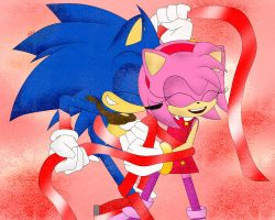 SonAmy Boom by FireWitch25