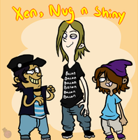 Xen, Nug N Shiny by HeartStringsXIII