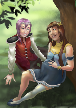 Maddy and Caillen ( contest entry) by Dekurini