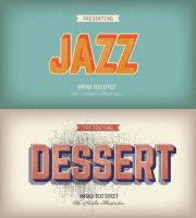 Vintage Graphic Styles for Illustrator by Minhaj-94