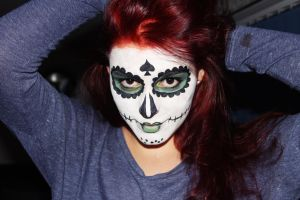 Sugar Skull 1 by ToniTurtle