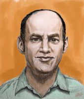 Todd Barry by JoshMLange