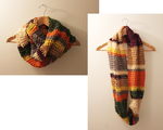 I crocheted a 4th doctor inspired scarf! by Tessa4244