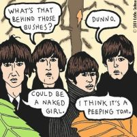 Beatles For Sale by bratpop