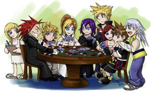 For AL536 - Card Game by LynxGriffin