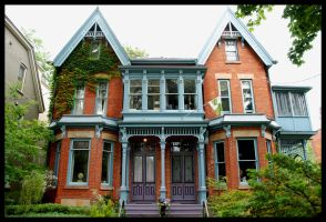 Victorian Home by Frittz