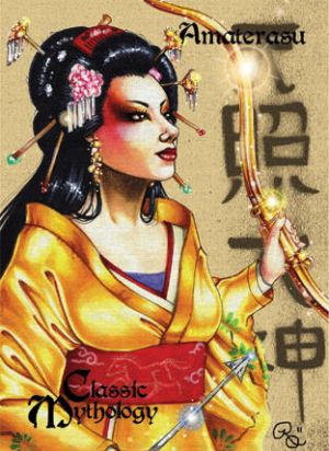 Amaterasu Base Card Art - Rhiannon Owens