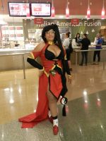 Phoenix Comicon 2014 Blazblue Litchi Faye Ling by Demon-Lord-Cosplay