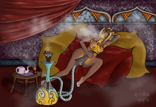Updated: Aldrem as a Concubine by IkeQuasar