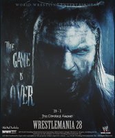 WWE ~ The Game Is Over ~ WM28 by MhMd-Batista