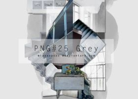PNG#25 Grey by miaoaoaoao