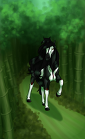 Bamboo Forest by PinkPonyFarts