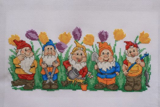 Gnomes, Cross Stitch Crazy issue 189 by StitchingDreams