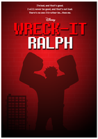 Wreck-It Ralph Movie Poster by Yeti-Labs