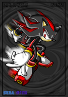 Shadou the Hedgehog by inuyashacrazy1