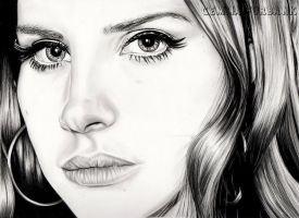 Lana Del Rey by GemmaFurbank