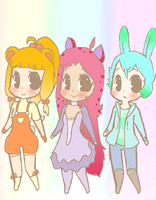 Outfits for Bis by Ruhianna