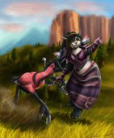 Travelling to Thunder Bluff by JennyWheat