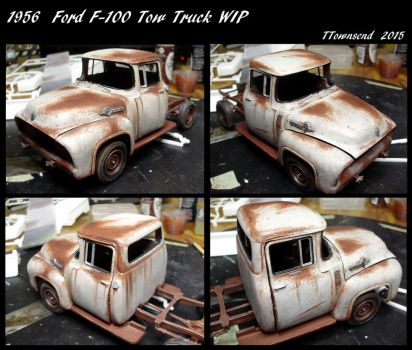 1956 tow truck WIP by devilsreject493