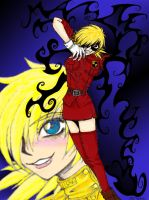 Kickass Seras, Color by Melfina-chan