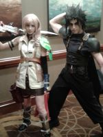 Zack and Lightning by BrinyCosplay