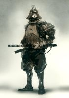 speed painted samurai 22 min by torvenius