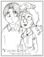 Young Love - Neville + Luna by lberghol