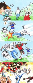 Respect the Football by inertbiscuit