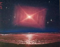 Red rectangle nebula by AexlPls