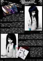 Winterheart Magazine Spread 2 by Fuyunobara