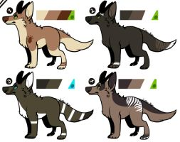 Demon Canine Adopts by Cotton-Bean