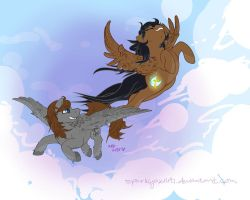 Flying Free  By Sparklyaxolot by Wolfboy900