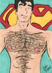 Superman shirtless 9-2016 by dynakor