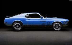Ford Mustang Mach 1 '70 by HAYW1R3