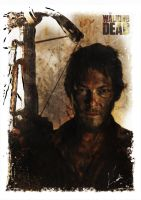 The Walking Dead - Daryl by kalli-schulz