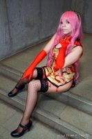 Megurine Luka World ends dancehall by misatomireille