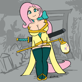 major miners: fluttershy by moronsonofboron