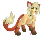 Smol Fox Pone (Tainted World) by KittyDragon619