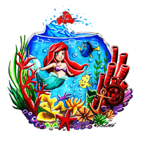 Ariel finds Dory by icbeth