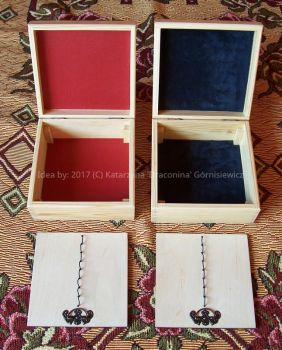 Wooden penbox varnished 2 by Fabrykanina