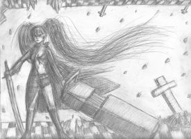Black Rock Shooter - Which Way is Up? by anime-halo