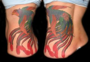 japanese Pheonix Tattoo by JaredPreslar
